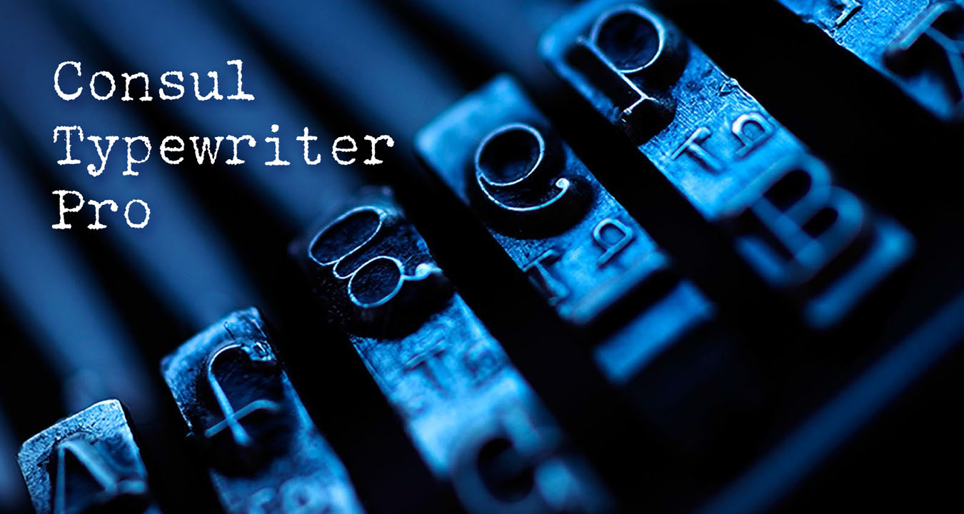 Consul Typewriter Pro - Banner 10